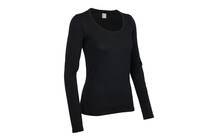 Icebreaker Women's Oasis LS Scoop black